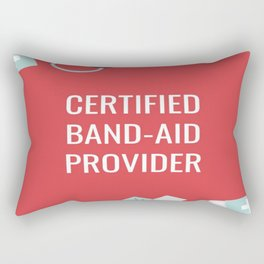 Certified Band-Aid Provider Rectangular Pillow