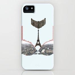 je t'aime, paris. iPhone Case