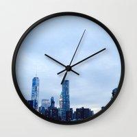 brooklyn Wall Clocks featuring Brooklyn by ElectricShotgun