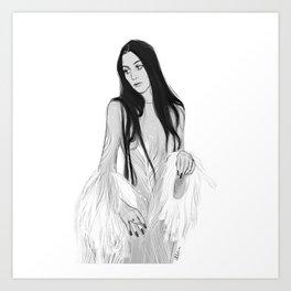 Cher/MetGala Art Print