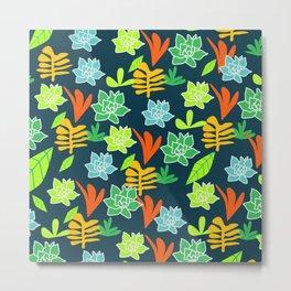 Cheerful plants Metal Print
