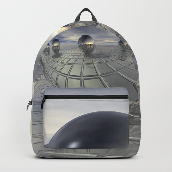 Reflecting 3D Spheres Backpack