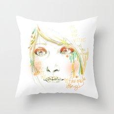 Favorite Song Throw Pillow
