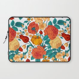 Vintage flower garden Laptop Sleeve