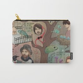 The King Of Limbs Carry-All Pouch