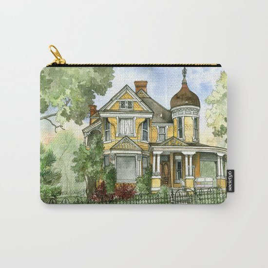 Victorian in The Avenues Carry-All Pouch