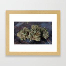 Deep Sleep Medicinal Medical Marijuana Framed Art Print