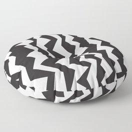 80s Zigzag Floor Pillow