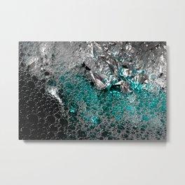 Polar Ice   Abstract Photography Metal Print