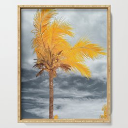 Coconut Tree Serving Tray