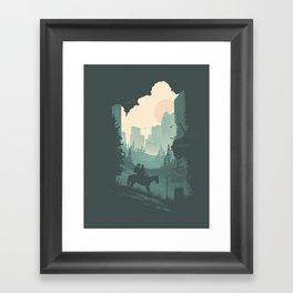 Ellie & Dina Framed Art Print