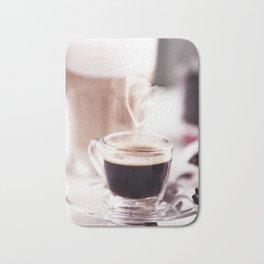 Coffee with heart Bath Mat