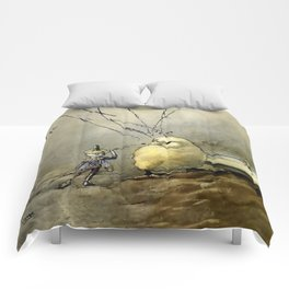 """""""Bother the Gnat"""" by Duncan Carse Comforters"""