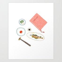 Table Setup Art Print