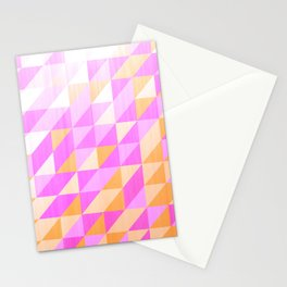 distressed purples Stationery Cards