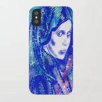 princess leia iPhone & iPod Cases featuring Princess Leia by grapeloverarts