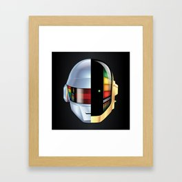 Daft Punk - Discovery variant Framed Art Print