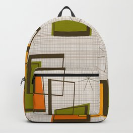 Rectangles and Stars Backpack