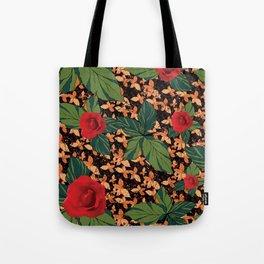 rose with dandelion - variant Tote Bag