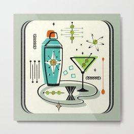 Atomic Martini ©studioxtine Metal Print