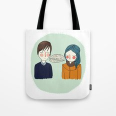 I Can't See Anything I Don't Like About You Tote Bag