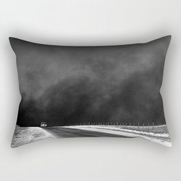 Clouds of Dust Over the Texas Panhandle Rectangular Pillow