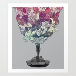 Ka-Bloom Art Print
