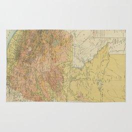 Vintage Map of Guatemala (1902) Rug