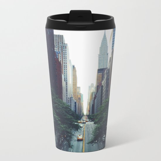 Morning in the Empire Metal Travel Mug