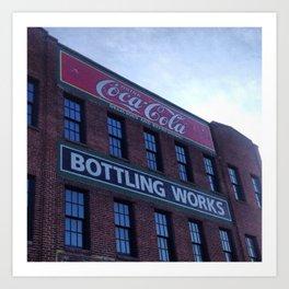 Coca-cola building Art Print