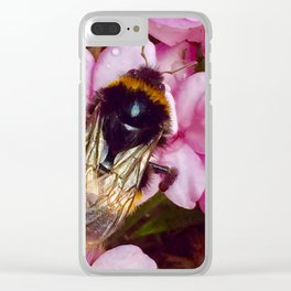 Buzzy bee Clear iPhone Case