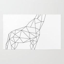 Geometric Giraffe Rug