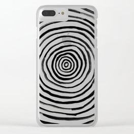 Sweet Premonition Uno Clear iPhone Case