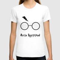 boyfriend T-shirts featuring Accio Boyfriend by Vortha