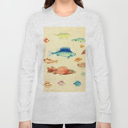 "Odilon Redon ""Fishes (Poissons)"" Long Sleeve T-shirt"