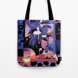 Porch Night Tote Bag