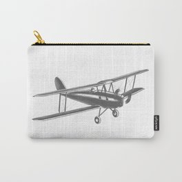 Vintage airplane Carry-All Pouch