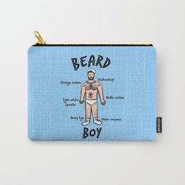Beard Boy: Sailor Style Carry-All Pouch