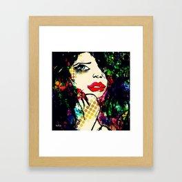 Lolie Framed Art Print