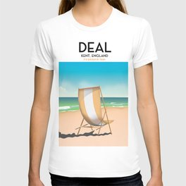 Deal - Kent - England vintage travel poster T-shirt