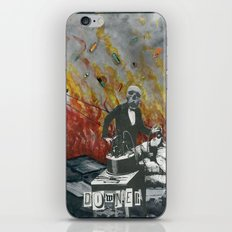 Complimentary Anesthetics amidst firebomb and spiritual tranquilizer raid. iPhone Skin
