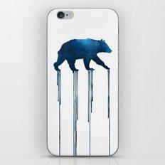 indigo bear iPhone Skin