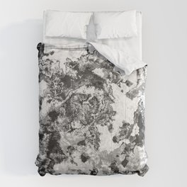 Winter - Study In Black And White Comforters