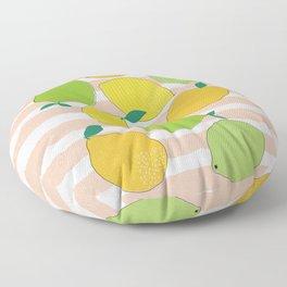 Citrus Crowd Floor Pillow