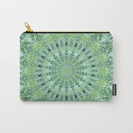 Mary Jane Mandala (green) Carry-All Pouch