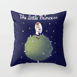The Little Princess Throw Pillow