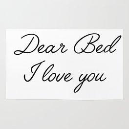 dear bed Rug