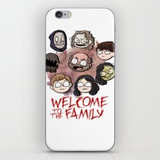 Welcome to the Family iPhone & iPod Skin