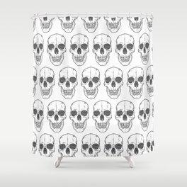 Big Ol' Skull Shower Curtain