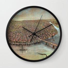 Vintage Saint Louis Missouri Wall Clock